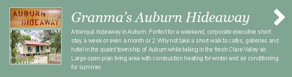 Granmas Auburn Hideaway